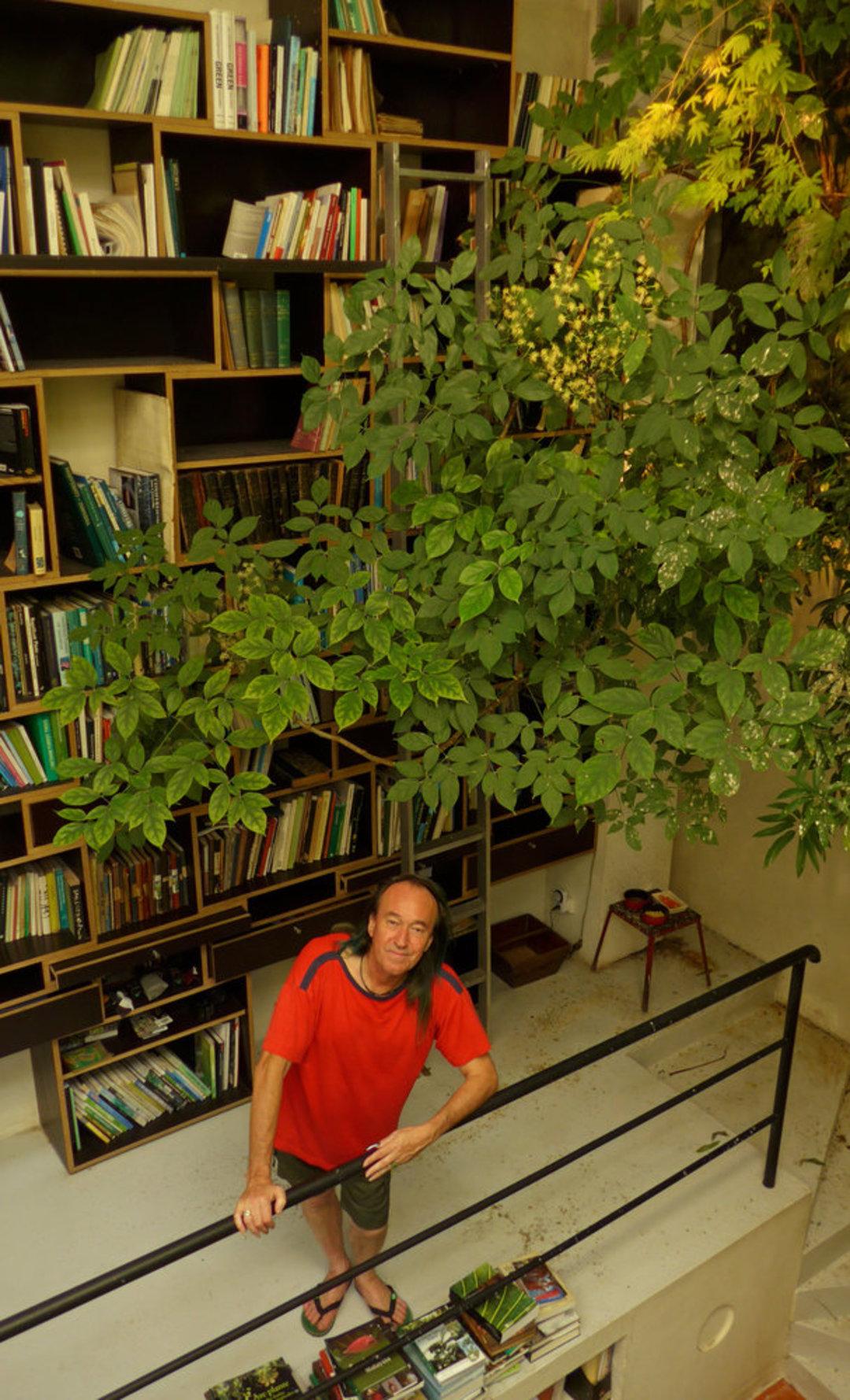 这个法国植物学家做了 40 年垂直花园,他的一生都和植物有关_设计_好奇心日报
