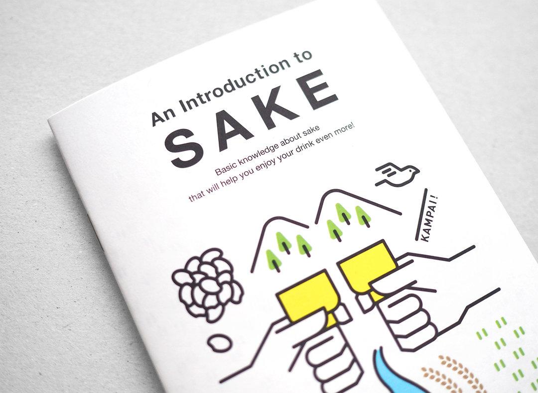 这本介绍清酒的小册子,专门为爱上清酒的美国消费者而制_设计_好奇心日报