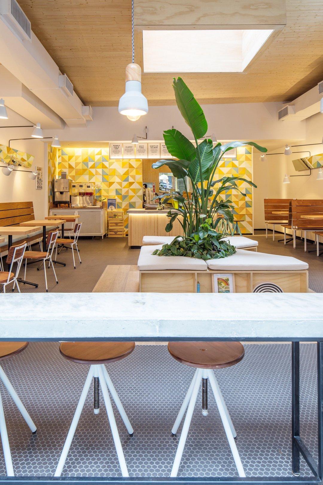 植物、自然光和足够多的座位,都在这家小快餐店里安排好了_设计_好奇心日报