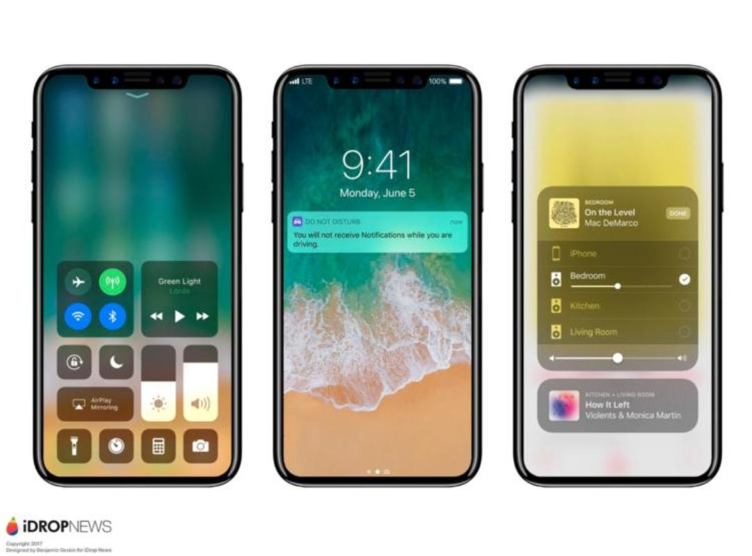 iPhone 8 可能要取消 Touch ID,改用面部识别做信息验证_智能_好奇心日报
