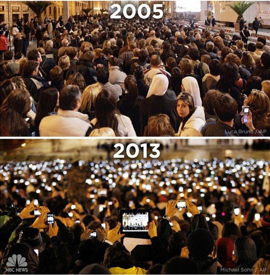 9 张用 iPhone 拍摄的照片,带你回顾它诞生以来的十年_文化_好奇心日报