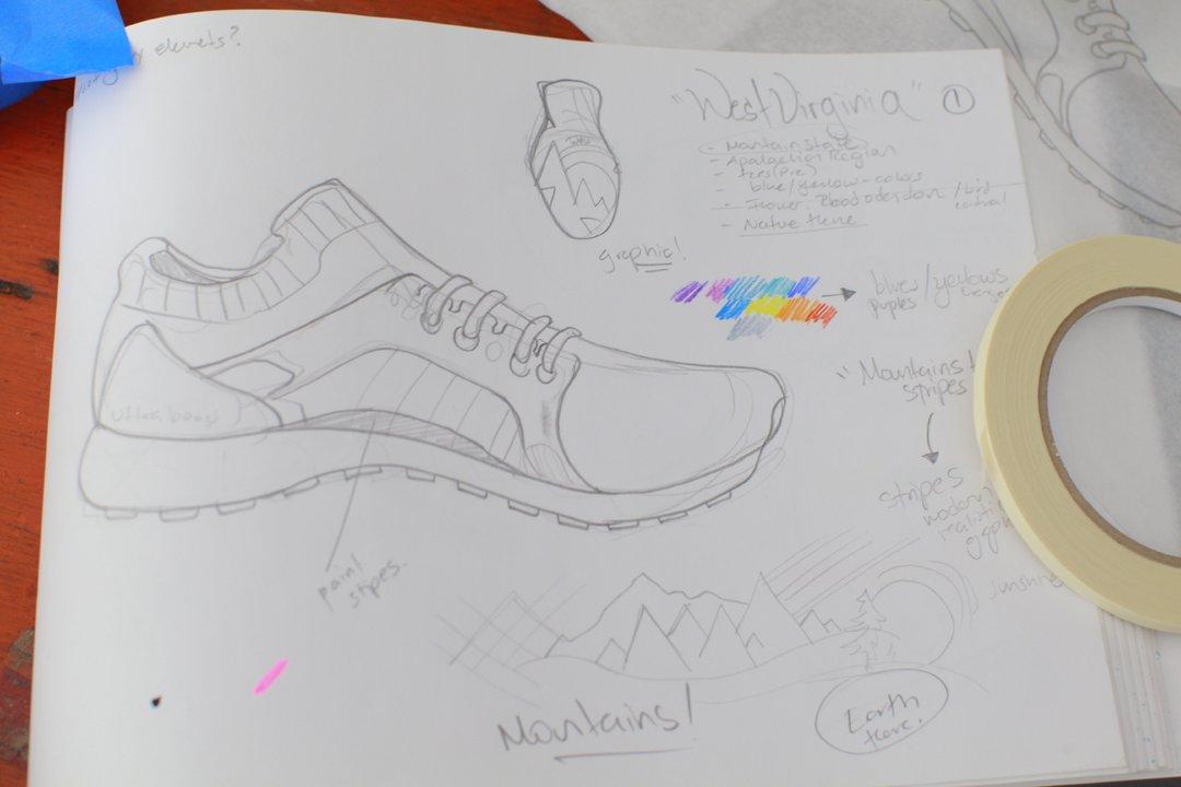 匹萨、鲜花和龙卷风,怎么都跑到了阿迪达斯的这款女鞋上?_设计_好奇心日报