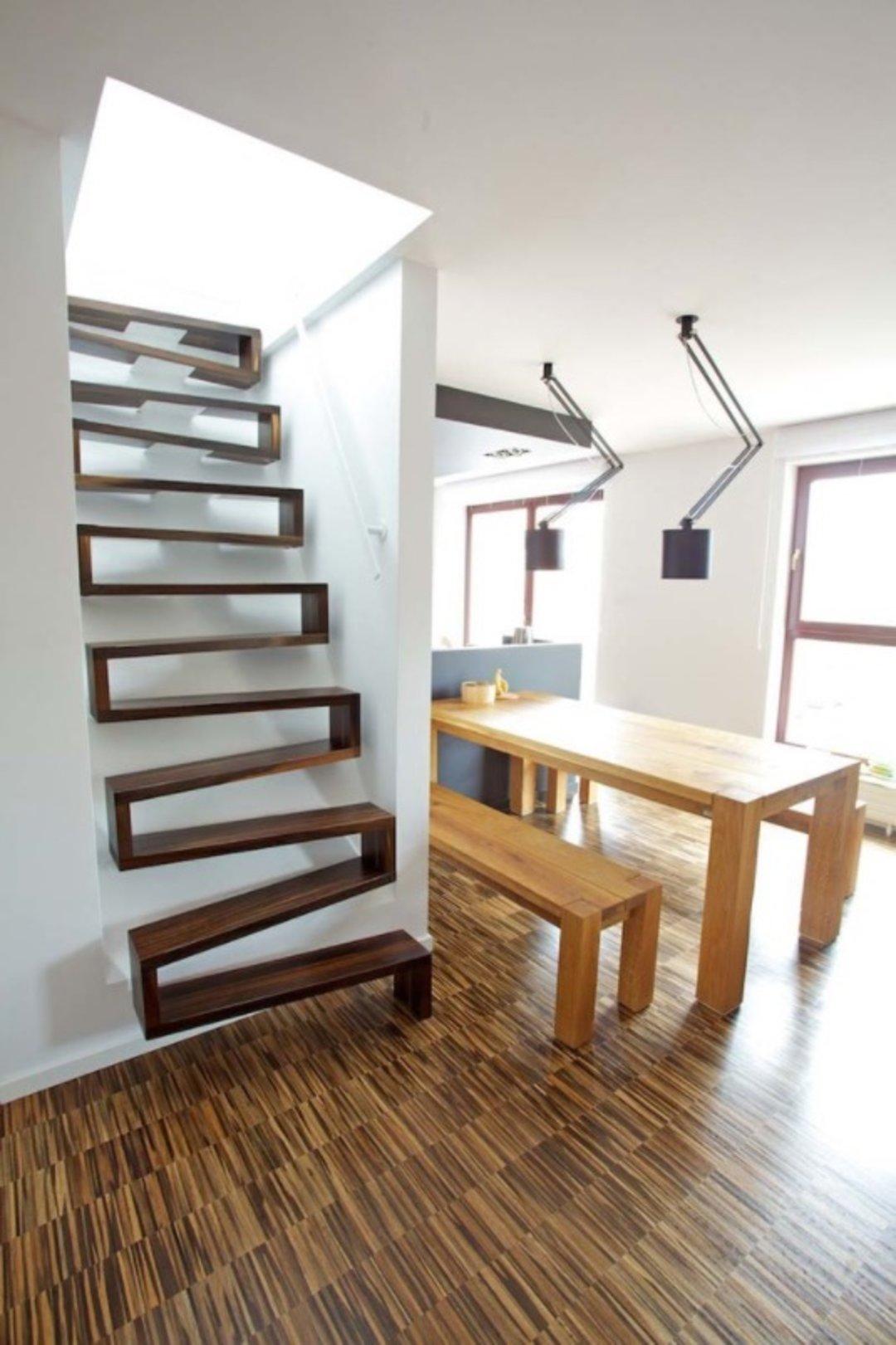 衔接空间,这里有几个有想法的楼梯 这个设计了不起_设计_好奇心日报