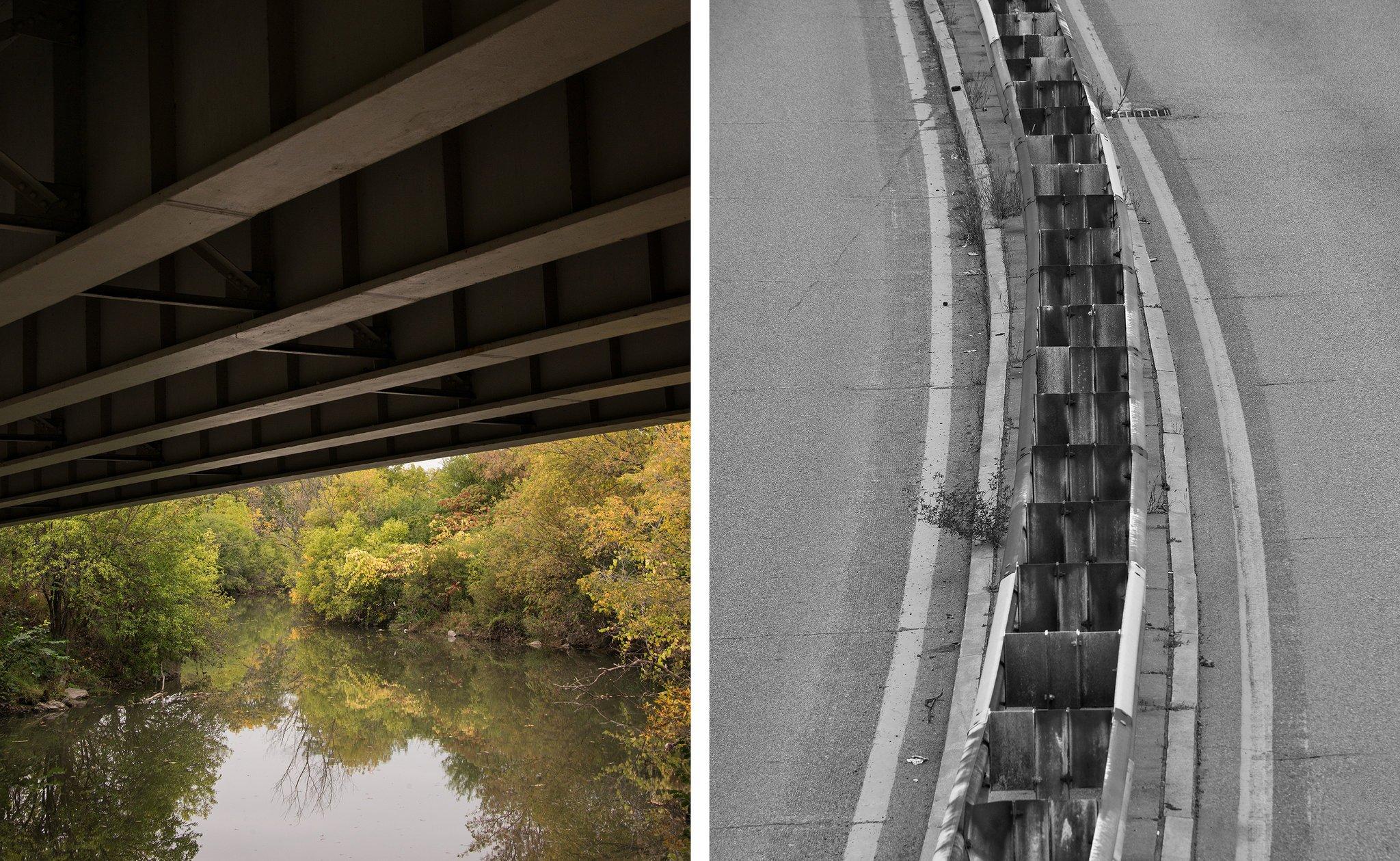 在美国,曾经时髦通畅的高速公路,如今