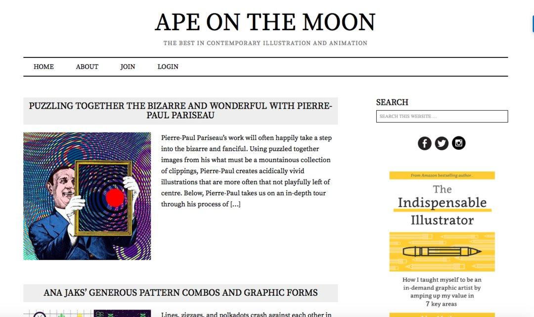关于设计、插画和摄影,这里有 20 个网站值得推荐(下)_时尚_好奇心日报