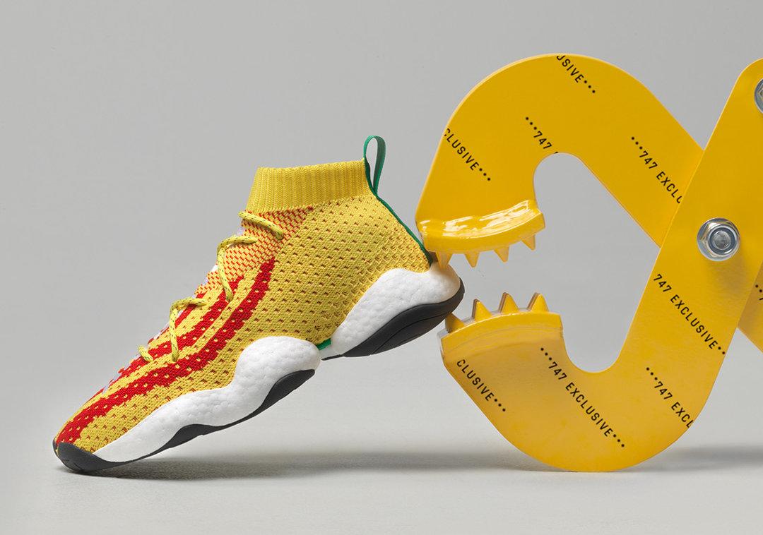 Adidas X Pharrell Williams joint basketball shoes emaor.com