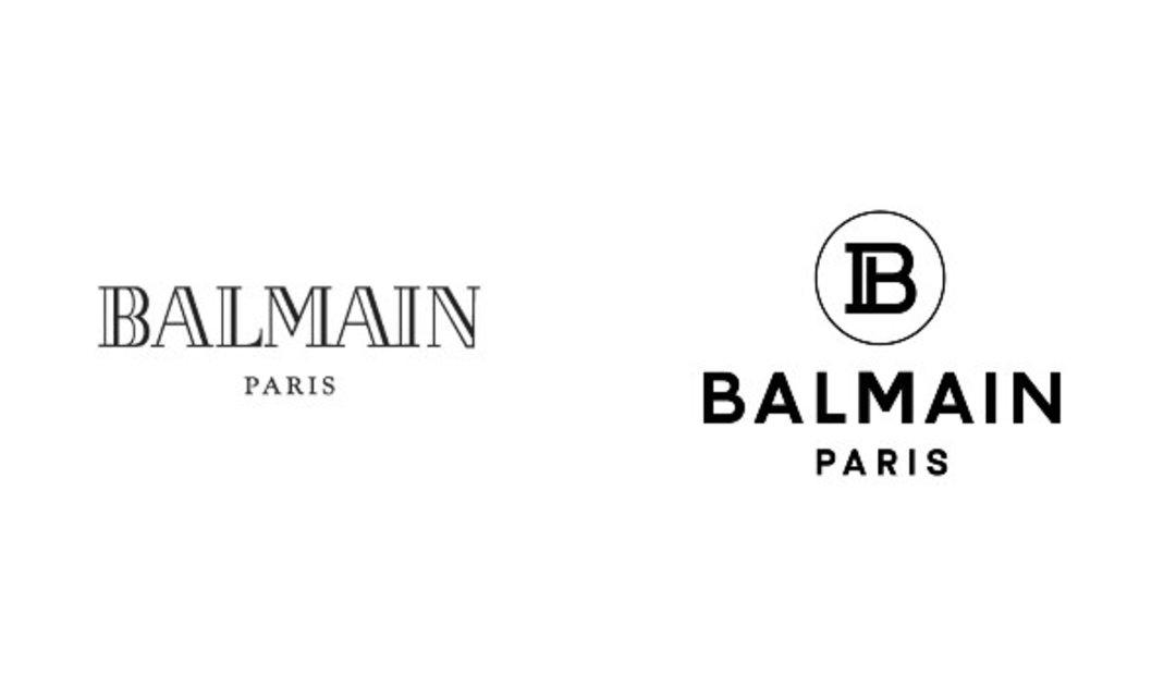 logo 以中世紀風格的 b 圈,融入了品牌創始人 pierre balmain 首字母