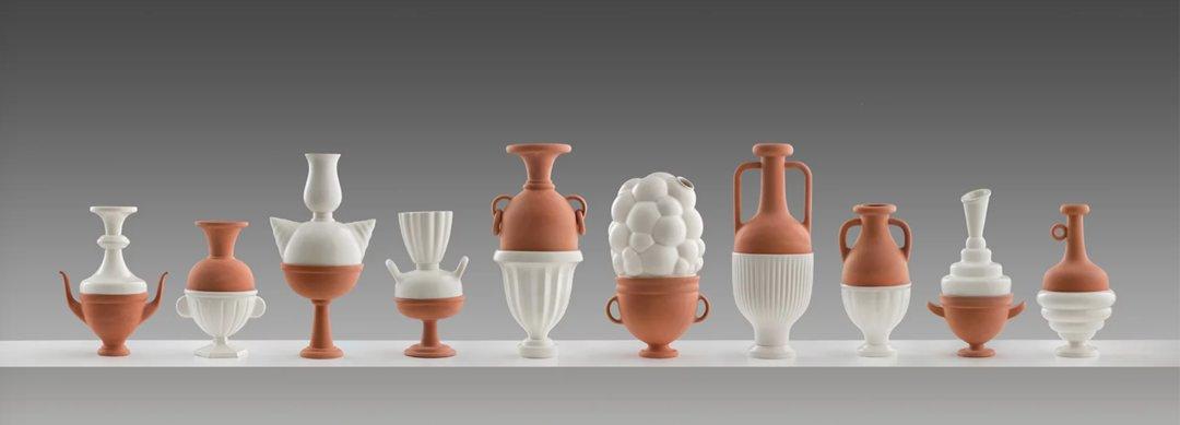 历史模型黏土制作过程